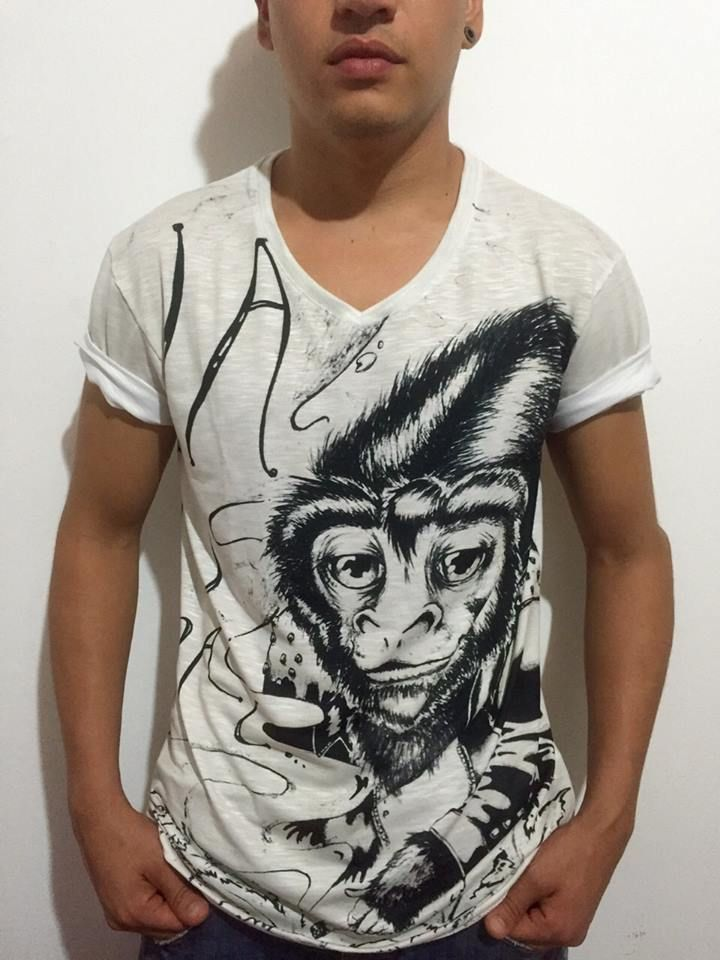 Camiseta Natural By SANTA #brand #tshirt #vector #illustration