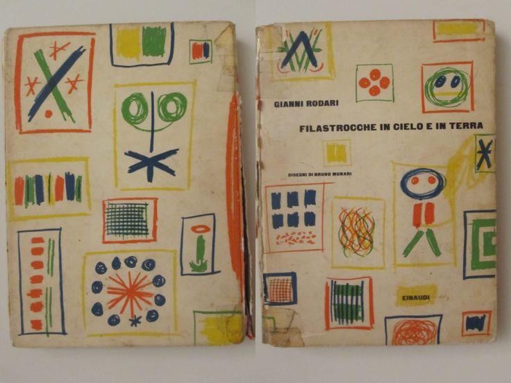 Filastrocche in cielo ed in terra -  Gianni Rodari illustrato da Bruno Munari 1962