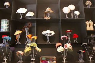 Hat room in exhibition of The Dressmaker 2015/16