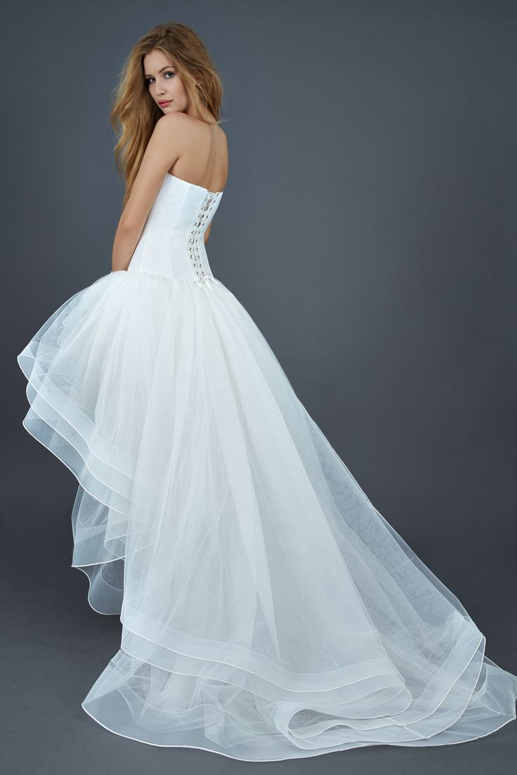 462 Best High Low Aka Mullet Wedding Gowns Images On Pinterest