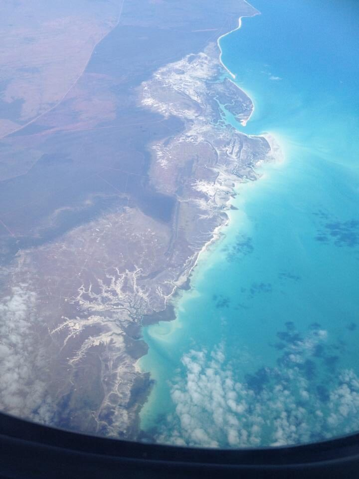 Australian Coastline between Broome and Port Headland