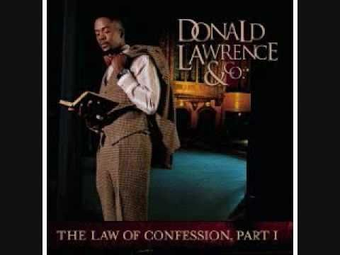 Donald Lawrence Happy Being Me