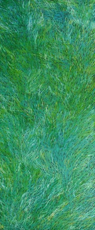 Barbara Weir / Grass Seed Dreaming Aboriginal Art – Buy Authentic Australian…
