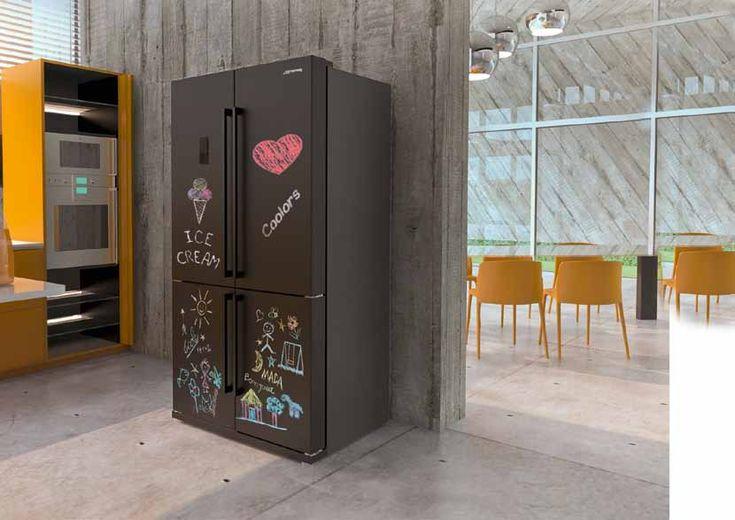 frigorifero lavagna colorato