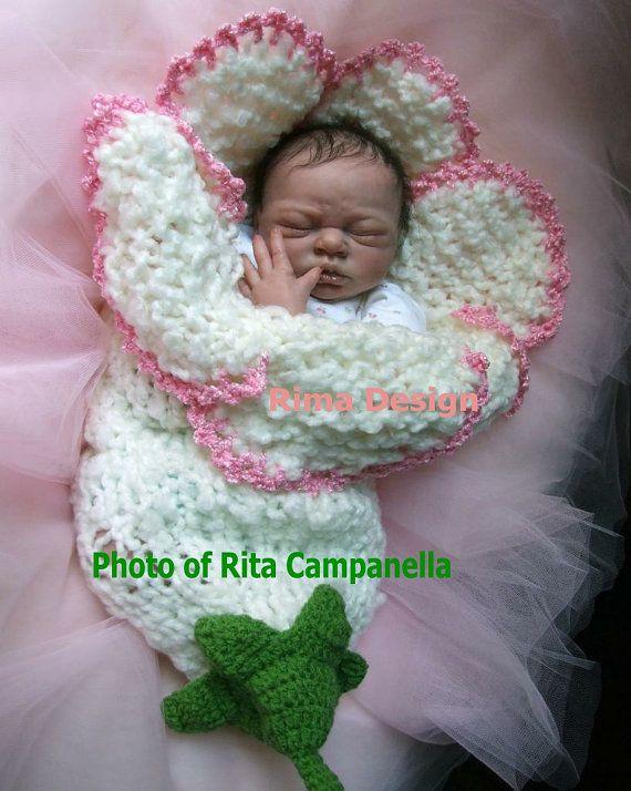 Original diseño nuevo estilo bebé recién nacido niña niño unigender bell lily flor capullo fotografía en color de rosa blanco apoyos