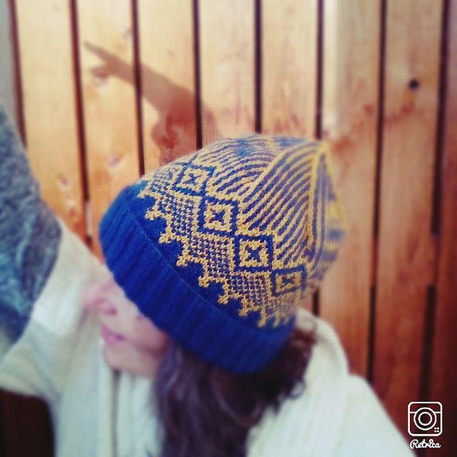 Ravelry: P.10 Nordic Hat pattern by Yoko Hatta (風工房)
