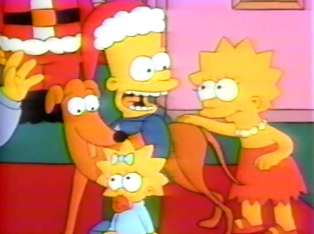 Simpsons Christmas Episode - First Simpsons Episode Ever - Esquire