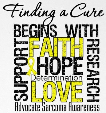 A beginning and (hopefully) an end to Sarcoma....: