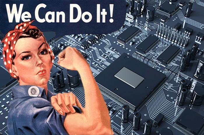 Women In Technology Will Conquer The Scene #womenintech #rolemodels #tech #geekettes