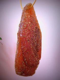 Отменный мясной деликатес в домашних условиях... Сыровяленая куриная грудка