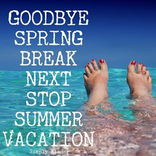 Spring Break is over and our next big vacation is Summer Break!  I know - between now and the teachers literally move mountains but still!  Where I live too - there are like NO more days off between now and the end and it can be exhausting at time. (Yes, yes rewarding but sometimes you just need a day off.  It's like a 2 month stretch with nothing!) #simplykinder #teachersfollowteachers #teachersofig #teachertalktuesday #igteachers #teachergram #teacherfriends  #teacherspayteachers #tpt…