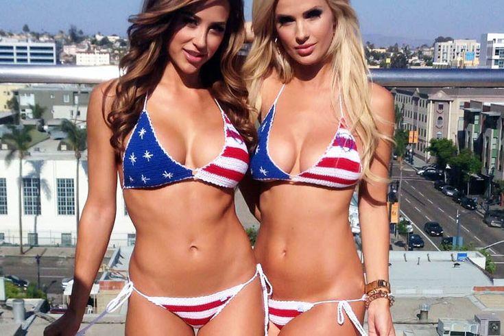 Американки в бикини https://mensby.com/photo/instagram/7310-american-women-in-bikini  Симпатичные американки отпраздновали День независимости США снявшись в откровенных и сексуальных бикини цвета американского флага.