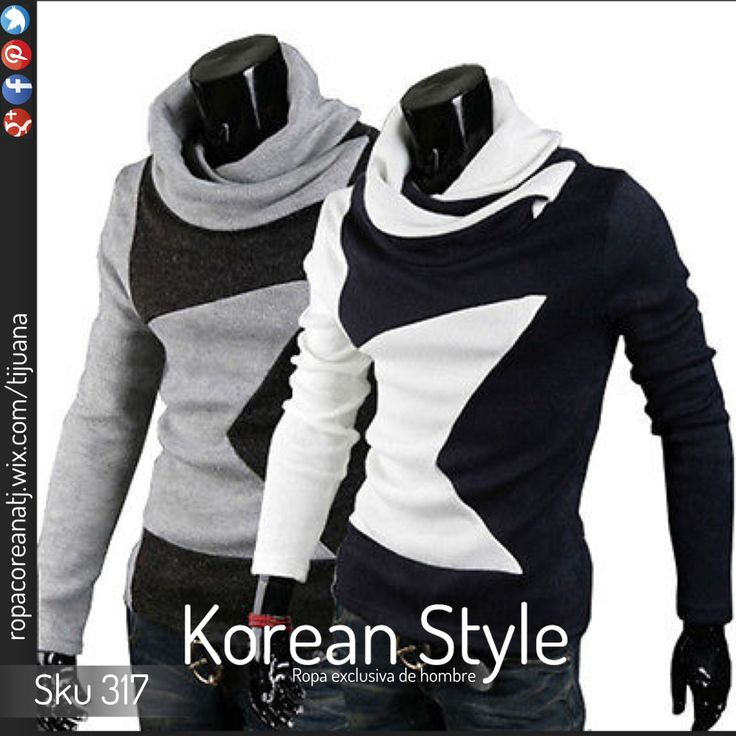 Ropa Coreana Masculina Sku 317 Korean Style