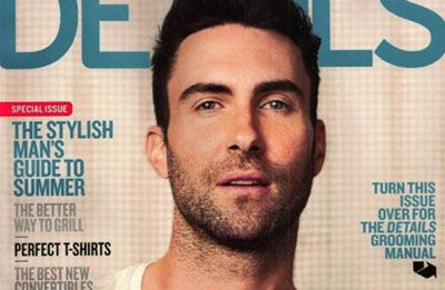 Adam Levine é o novo Rei do Pop para a revista Details…