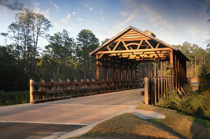 Woodlands Park Southport, NC Covered bridges, North