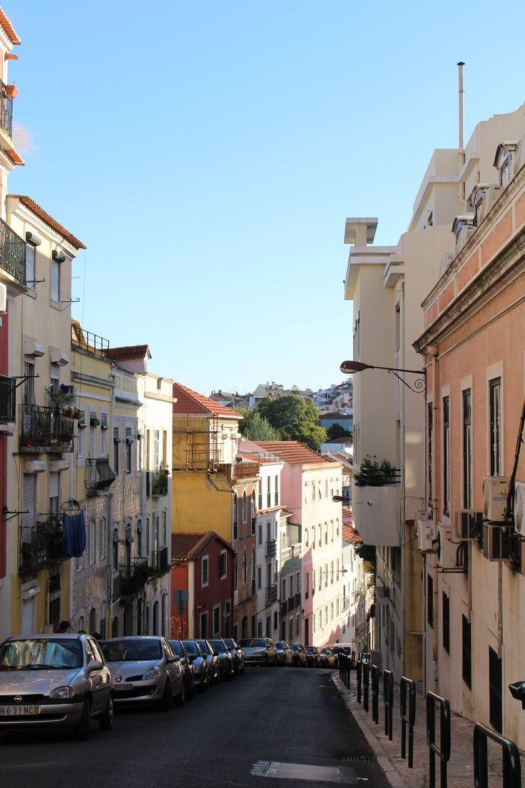 Lisbon city view, July 2014