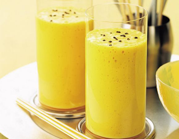 Receita de suco antioxidante de cenoura e maracujá Receitas Light