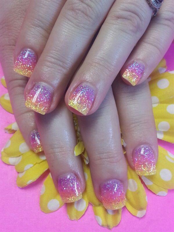 Day 156: Bright Colors Nail Art - - NAILS Magazine