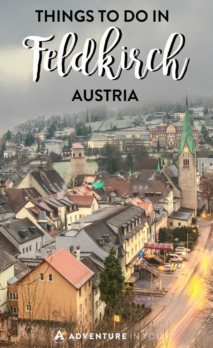 Feldkirch Austria | Heading to Austria? Check out this medieval town of Feldkirch as I share all the things to do in this small town. #austria