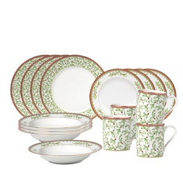 Dinnerware Set, 16 Piece, Service For 4