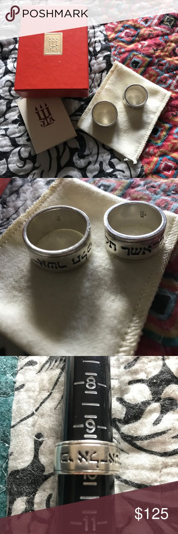 James Avery ring set Ruth 1:16 - where you go I will go. His & Hers ring set from James Avery - used but in excellent condition. Includes box, bag & care card. THIS CANNOT BE COMBINED WITH ANY BUNDLE OFFERS!!!! 💍PIRICE IS FIRM💑 James Avery Accessories Jewelry