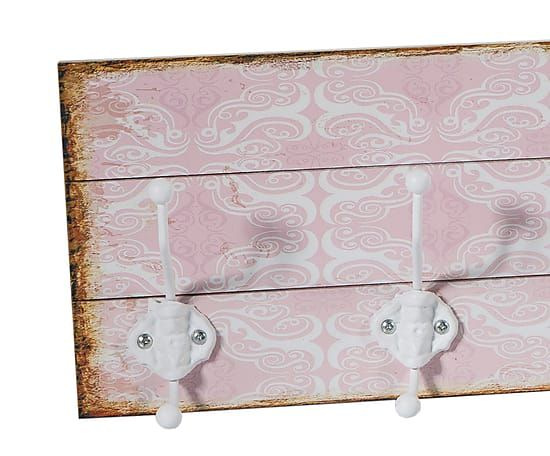 Perchero de pared en madera dm vintage proyecto - Percheros pared vintage ...