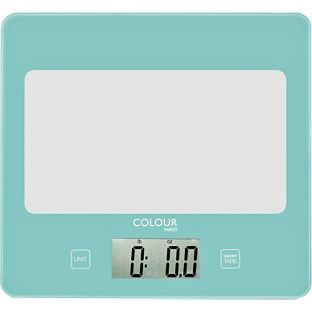 Charmant Buy ColourMatch Square Digital Kitchen Scale   Jellybean Blue At  Argos.co.uk