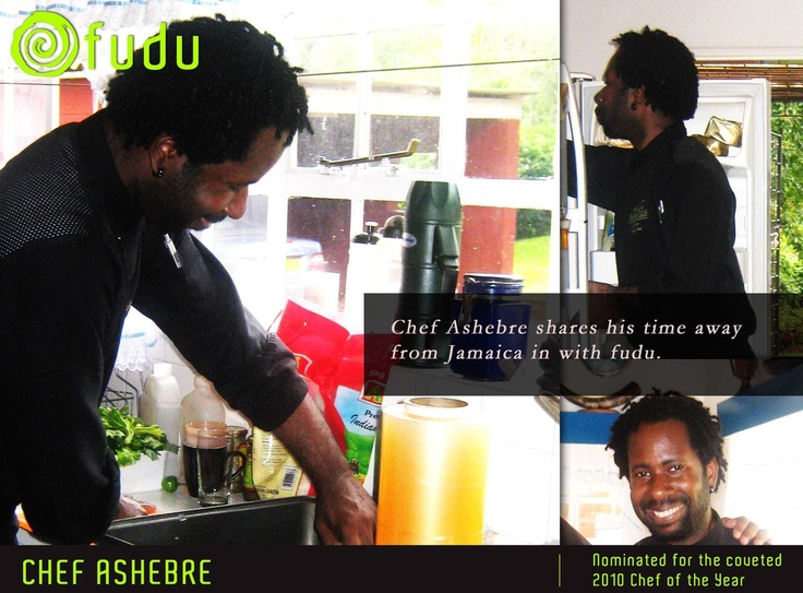 Chef Ashebre joins Fudu in his time away from Jamaica
