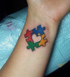 Autism tattoo design ideas 3