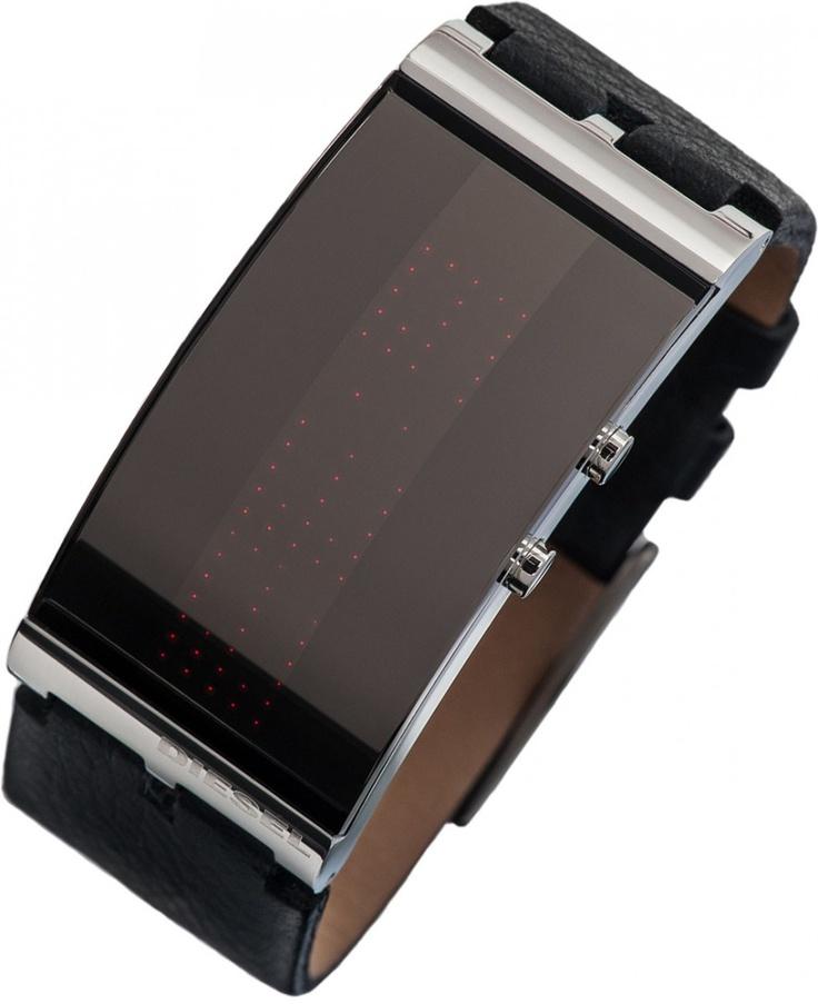 diesel digtal uhr dz7092 herrenuhr lederarmband products. Black Bedroom Furniture Sets. Home Design Ideas