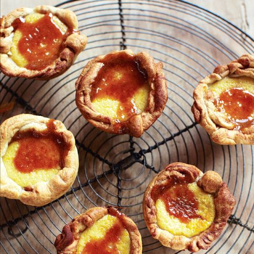 Portuguese desert : pasteis de nata from Jamie Oliver