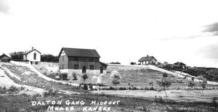 Great-grandma Zelda's birthplace; aka The Dalton Gang Hideout; Meade, Kansas