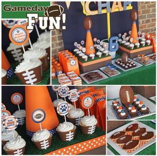 a football theme?