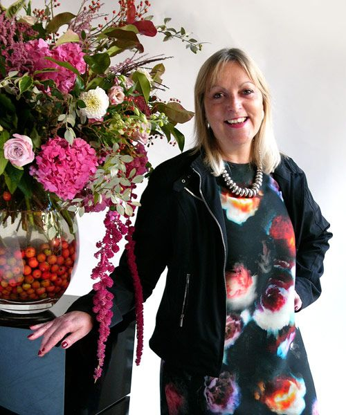 Paula Pryke the internationally renowned Floral Artist, with us on 11th May for our Meet The Wedding Experts event