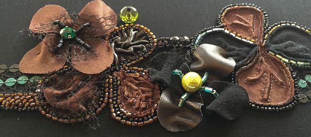 Ecole Lesage level 5 Haute Couture 'Obi', embroidered by Saskia ter Welle, www.saskiaterwelle.com