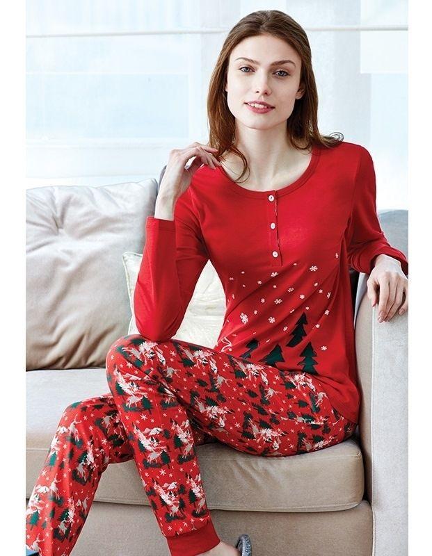 Hoş Geldin Yeni Yıl :) Eros ESK 9462 Bayan Pijama Takım #markhacom #YeniYılHediyesi #YeniYılPijamaTakım #YılBaşı #YılBaşıPijamaTakım #YeniYıl #YeniYılHediyesi #NewYears #Yılbaşı #BayanPijama #BayanGiyim #YeniSezon #Moda #Fashion #Kırmızı #KışTemalı