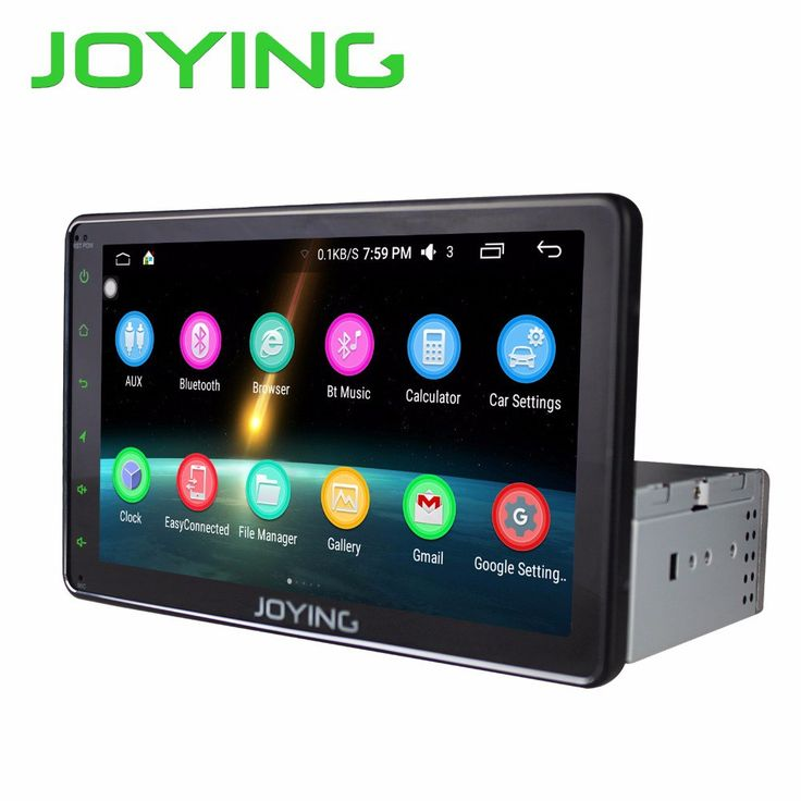 """Best price US $221.19   JOYING Android 6.0 8"""" Full Touch Screen Android Single 1 Din Car Stereo Auto radio Quad Core Car Head Unit Navigation System"""