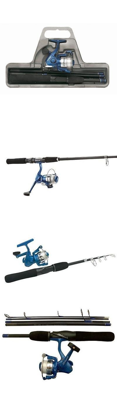 Other Rod and Reel Combos 179960: New Telescopic Fishing Rod Reel Kit Combo Case Travel Collapsable Tackle Spinner BUY IT NOW ONLY: $41.39