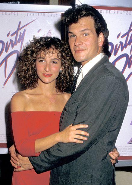 Patrick Swayze with Jennifer Grey on August 17, 1987
