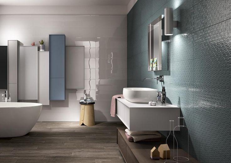 Piastrelle poetique bagno moderno ceramica bicottura - Ceramica bagno moderno ...