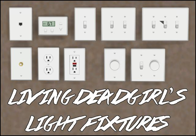 Sims 4 CC's - The Best: TS2 Light Fixtures and Outlets Conversions by Symp...
