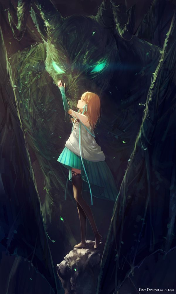 Pixiv Fantasia Art №8 Anime Art, аниме, Pixiv Fantasia