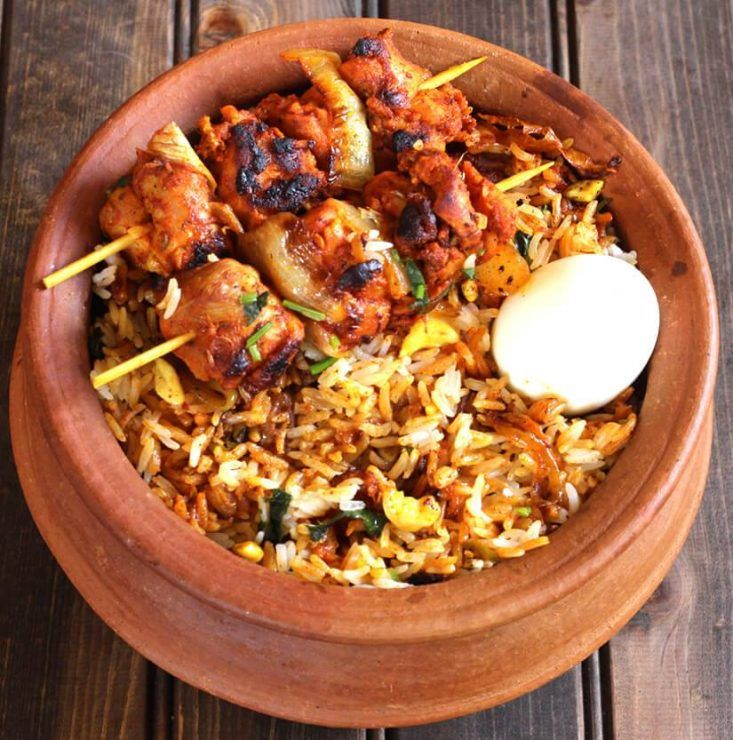 Chicken Tikka Biryani Biryani recipe, Biryani, Chicken tikka
