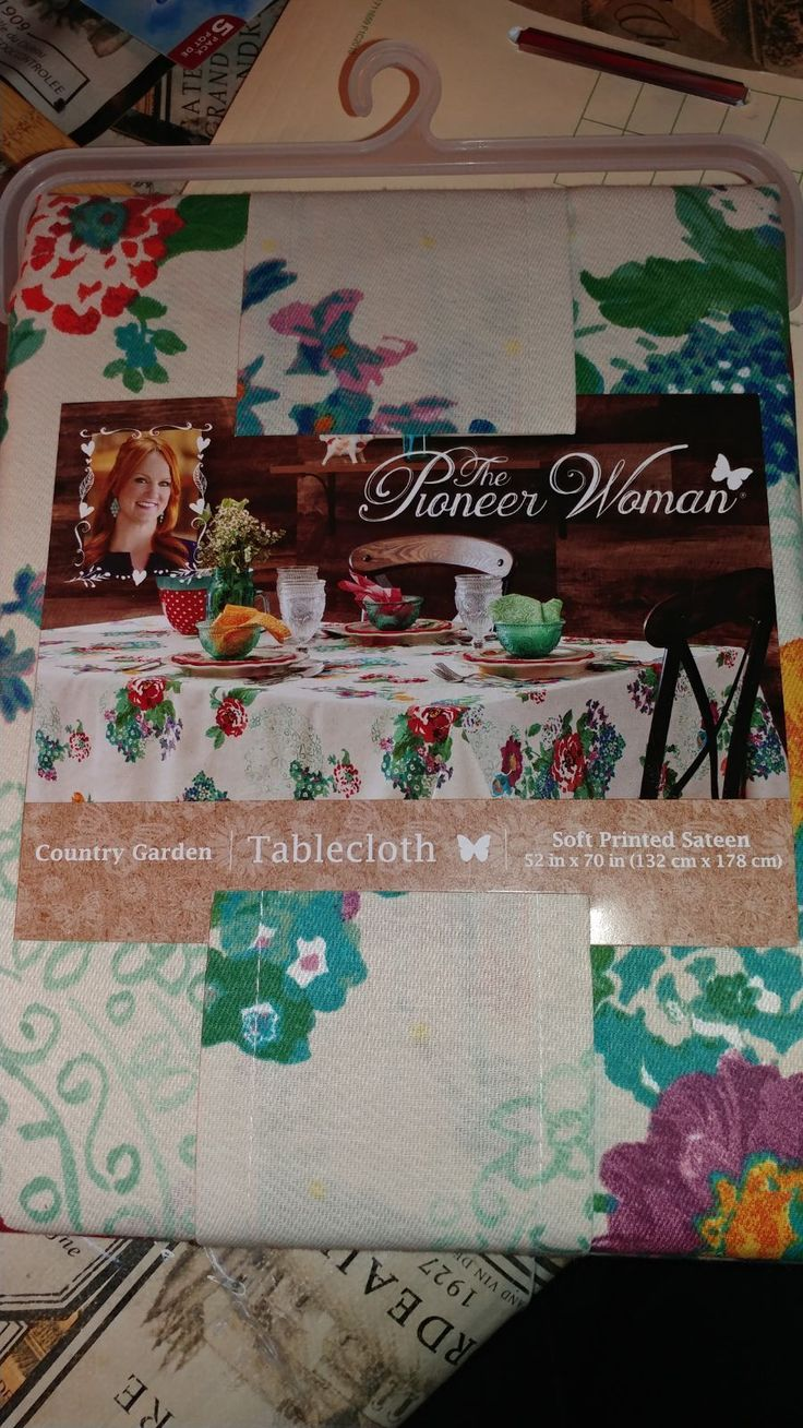 The pioneer woman oblong tablecloth