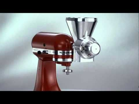 Robot artisan - Kitchen Aid - Robot cuisine multifonctions - YouTube