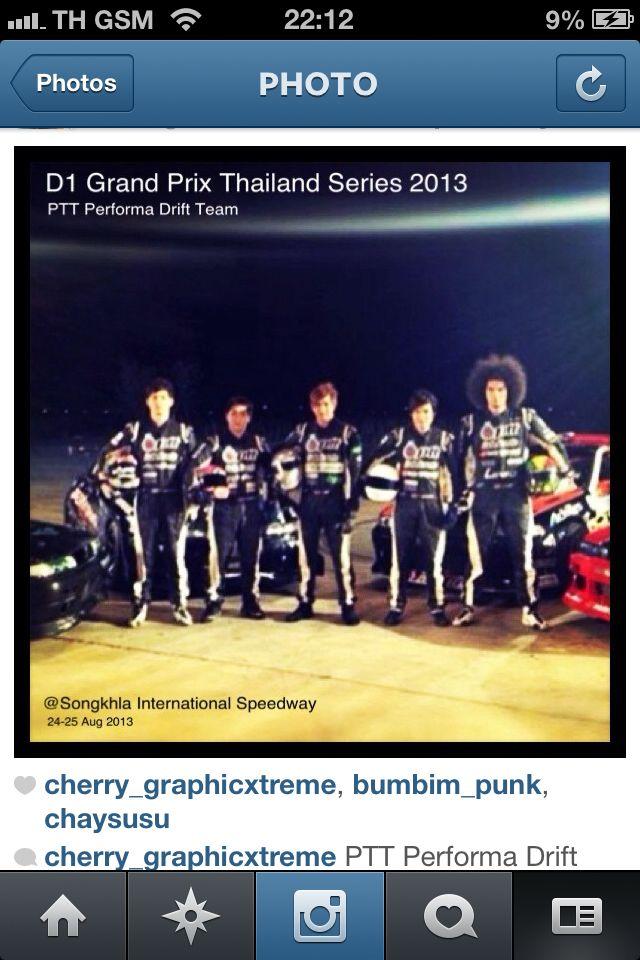 A Pround member of 'PTT PERFORMA DRIFT TEAM' , Thailand !!!
