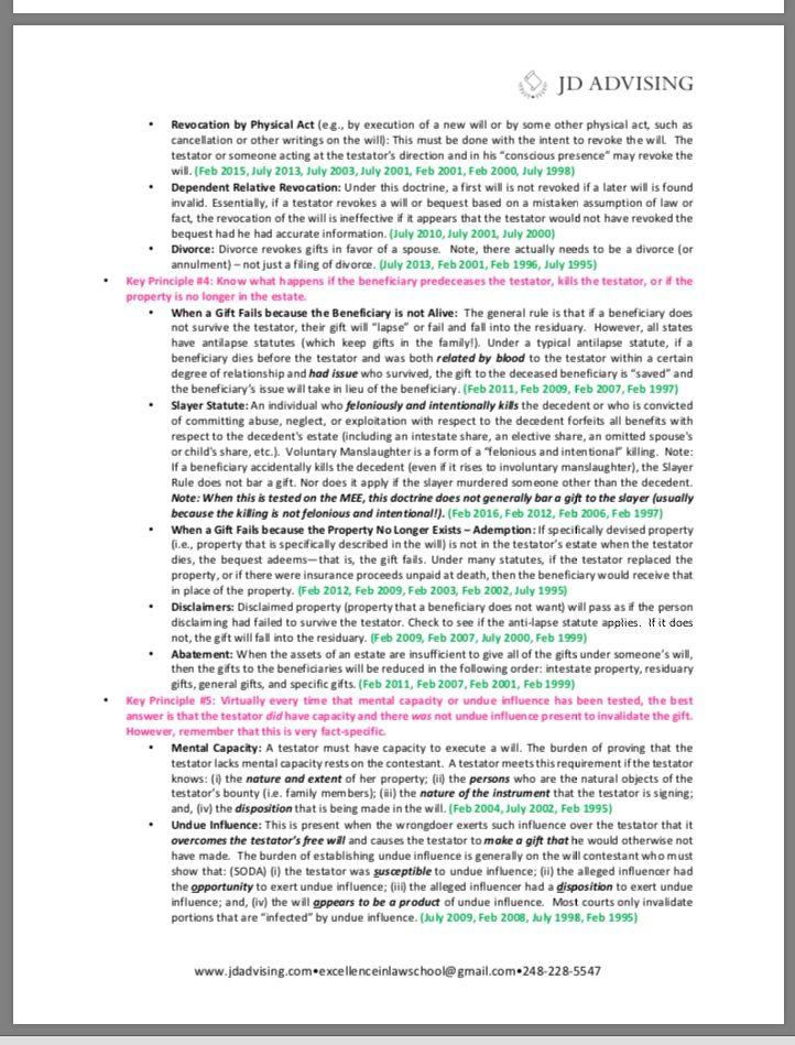 bar exam essay tips