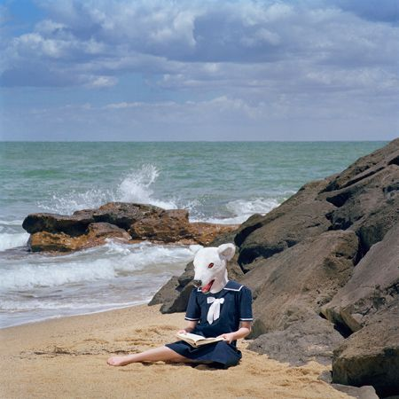 A day at the beach - Polixeni Papapetrou photographs