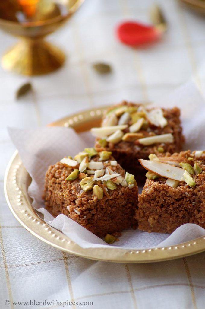 If you are looking for more burfi recipes then do check Rajgira Burfi, 7 cup burfi, chocolate mawa burfi, Kaju Burfi, Besan Butter Burfi and Ragi Kobbari Burfi. Doda Burfi / Dodha Barfi RecipeHari Chandana PIndianDessert Prep Time: 5 mins | Cook time: 20 mins | Makes: 6 small pieces Ingredients: 1 and 1/2 cups...