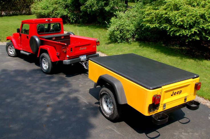 TJ tub trailer built (cheap) - Jeep Wrangler Forum